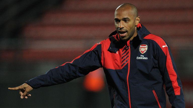 Thierry Henry has had an influence on Bukayo Saka's development at Arsenal