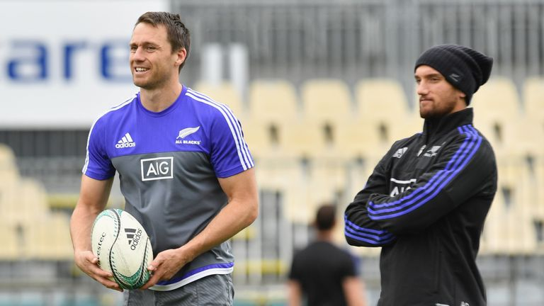 Ben Smith and Aaron Cruden are heading to Japan