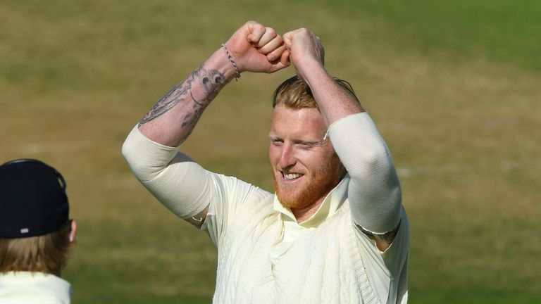 Ben Stokes was the pick of the England bowlers on day three at the Ageas Bowl