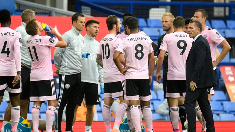 A Brendan Rodgers team talk during the first-half drinks break turned the Leicester performance on its head