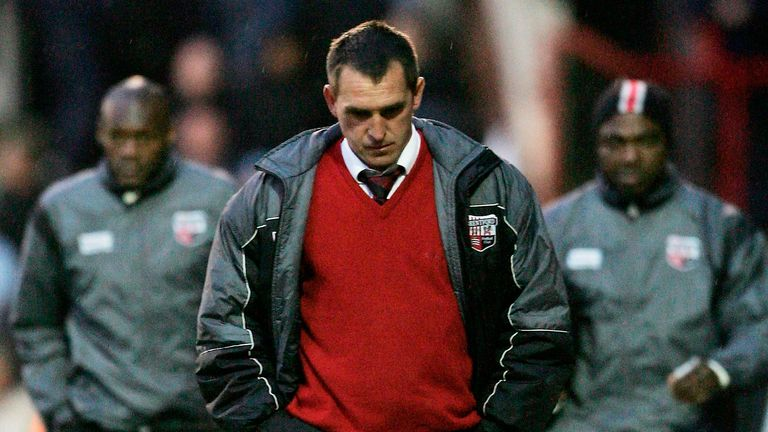 Martin Allen took Brentford to the League One play-off semi-finals in his first full season in charge