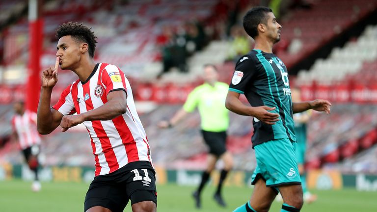 Leeds will look to steal Ollie Watkins from Brentford if Fulham beat the Bees in the Championship play-off final