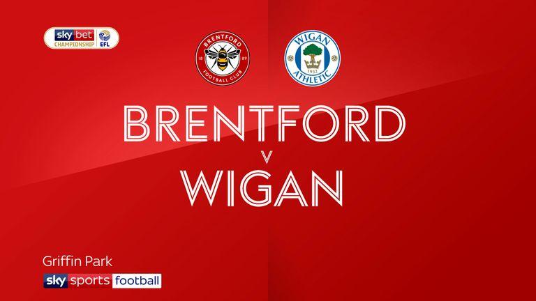 Brentford v Wigan badge