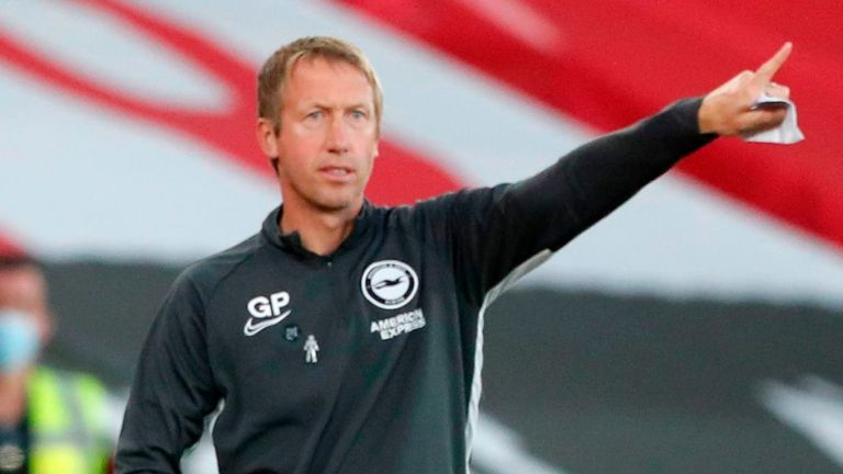 Brighton head coach Graham Potter was praised by Connolly and Alzate for giving them opportunities