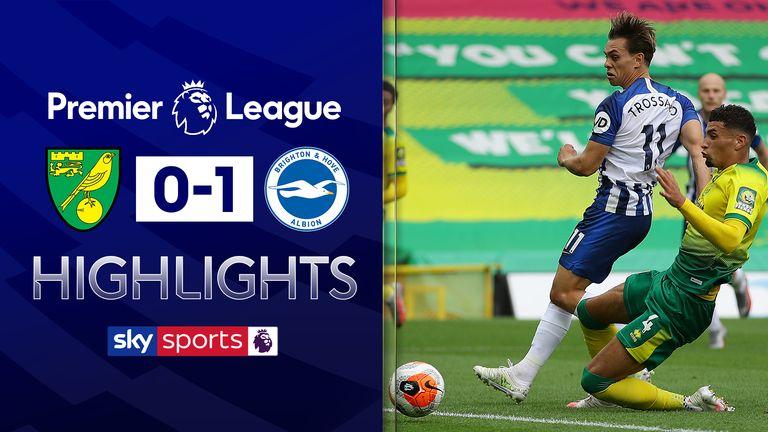 Norwich 0-1 Brighton