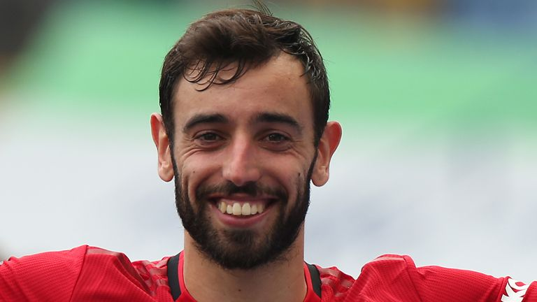 Bruno Fernandes wants success in the Europa League ahead of Manchester United's return to the Champions League next season
