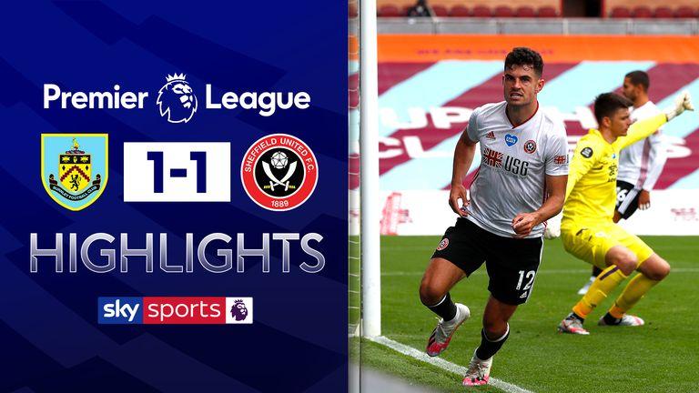Burnley 1-1 Sheffield Utd