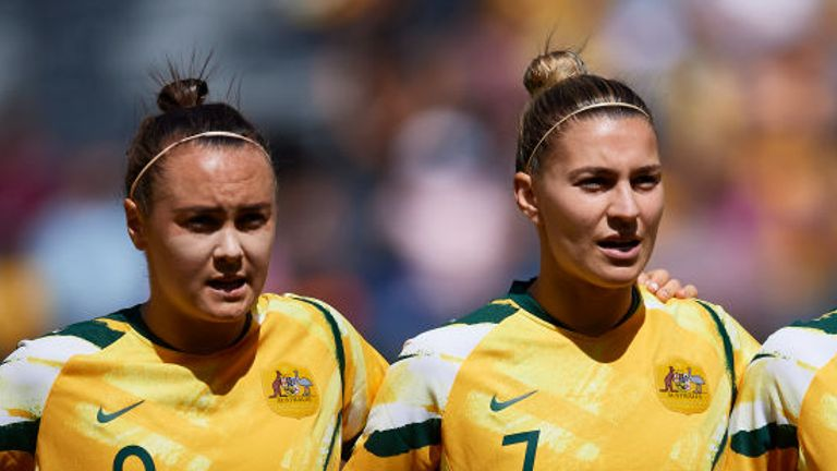Catley says Australia team-mate Foord played a big role in convincing her to join Arsenal