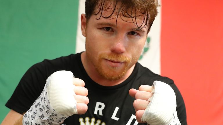 Canelo has been inactive since November 2019