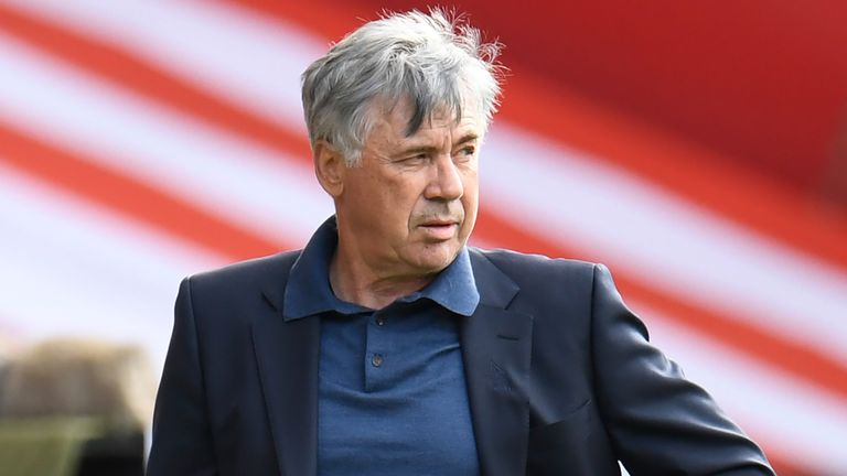 Everton manager Carlo Ancelotti is looking towards a strong 2020/21 season