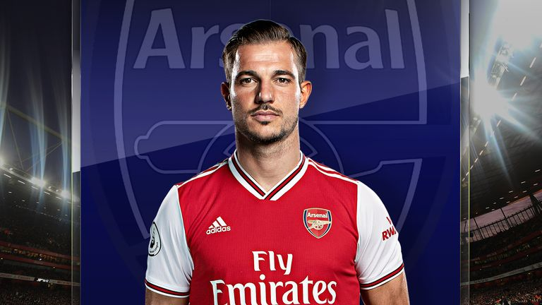 Cedric Soares joined Arsenal from Southampton in January