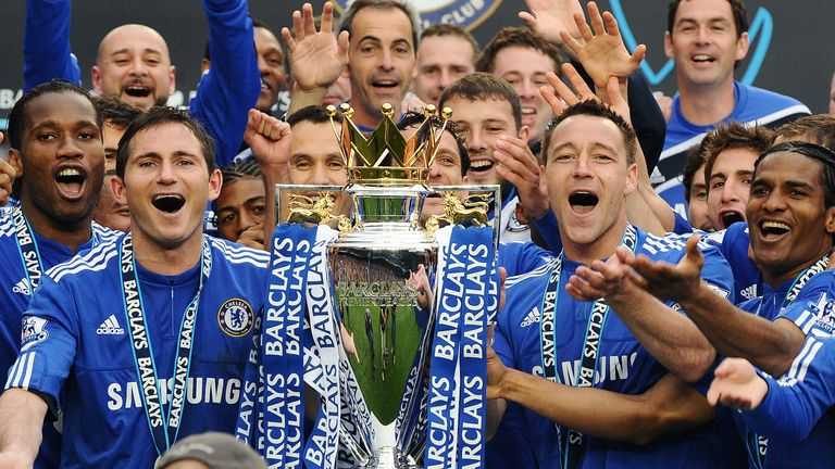 Frank Lampard is a three-time Premier League winner