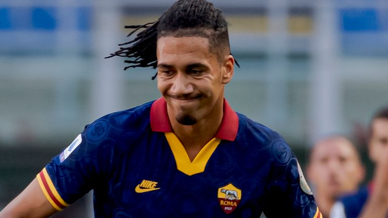 Defender Chris Smalling has been a regular starter for Roma this season
