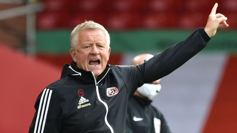 Chris Wilder has taken Sheffield United from League One to challenging for Europe in five seasons