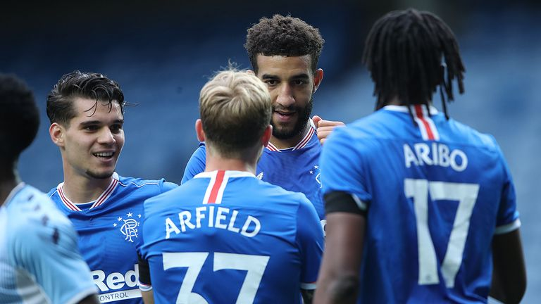 Rangers wrapped up their pre-season schedule with a 2-0 win over Coventry City