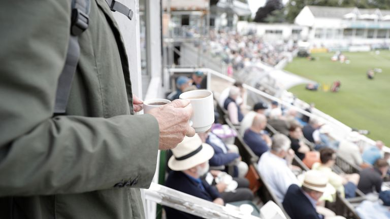 The ECB will host a virtual cricket tea on day two of the second Test between England and  West Indies in support of local food banks