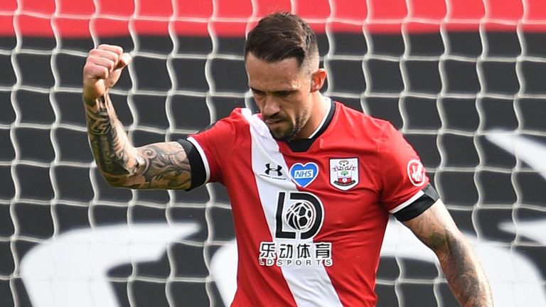 Danny Ings scored 21 non-penalty goals for Southampton