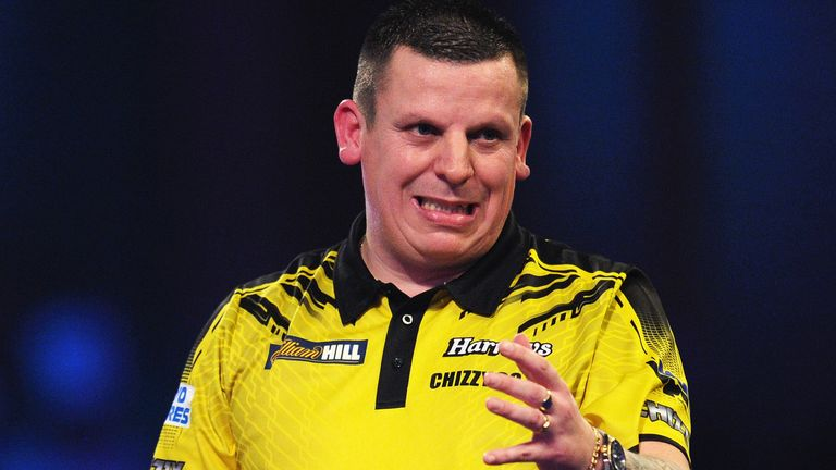 Chisnall couldn't see out the victory