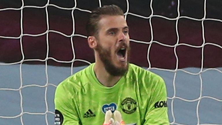 "David de Gea says Manchester United are ""in a good way"" heading into their final four Premier League games of the season"