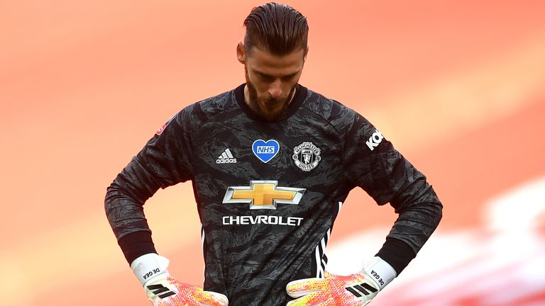 David de Gea's mistake handed Chelsea their second goal