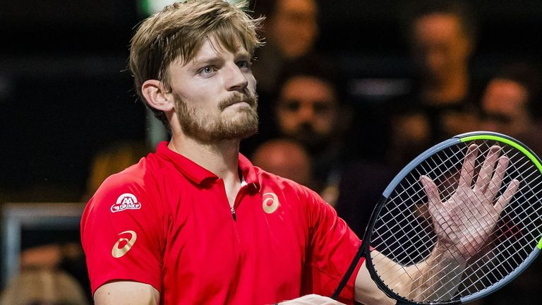 David Goffin is in two minds as to whether he will travel to New York later this summer