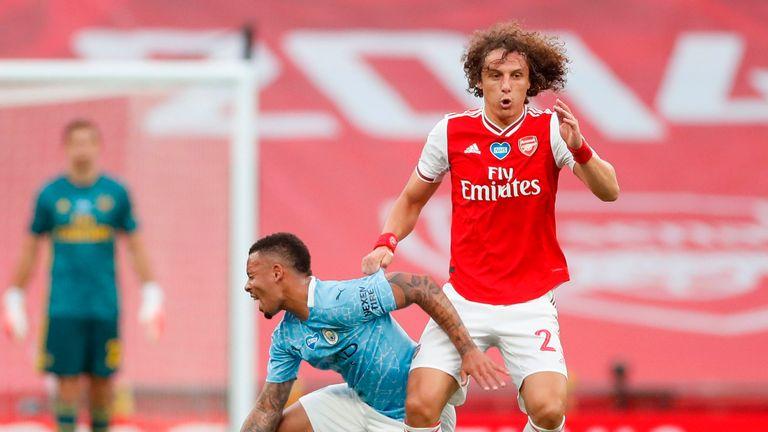 Star man: David Luiz
