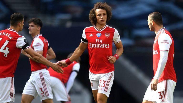 David Luiz Arsenal Tottenham