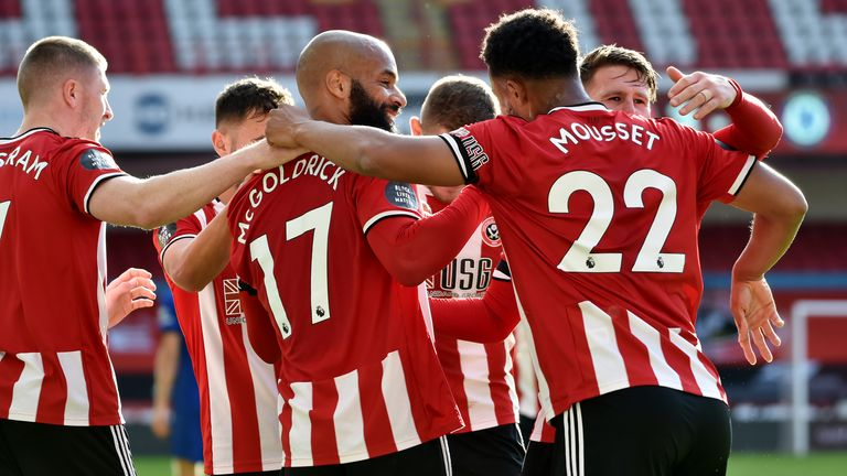 David McGoldrick scored twice as Sheffield United beat Chelsea 3-0 on Saturday