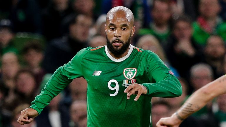 David McGoldrick is one of three nominees for the top honour
