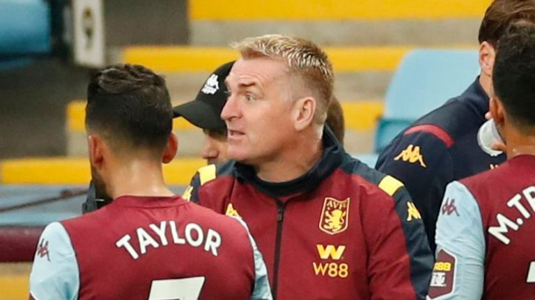 Dean Smith says Aston Villa have to believe they can win their last four games