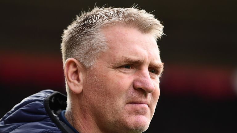 Dean Smith's Aston Villa sit outside the bottom three on goal difference ahead of their game against West Ham on Sunday