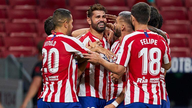 Diego Costa scored Atletico Madrid's winner