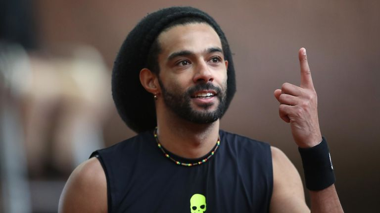 Dustin Brown recently finished competing in the first Ultimate Tennis Showdown