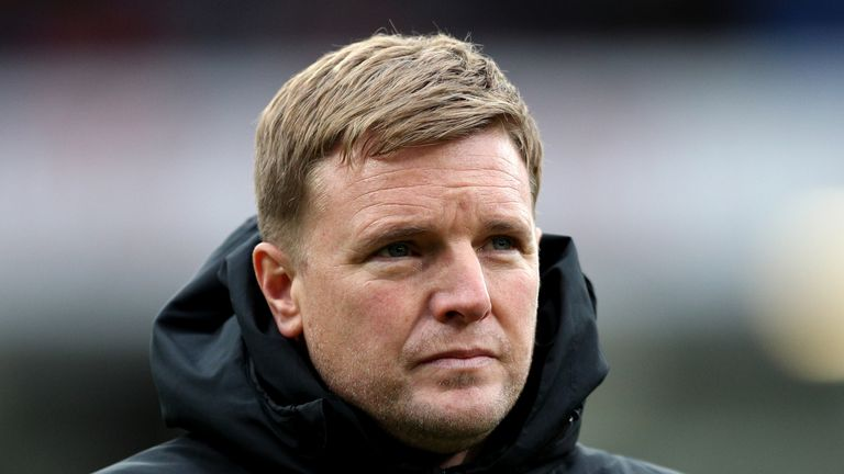 Eddie Howe's Bournemouth are three points from safety with just two Premier League games left to play