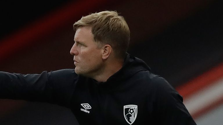 Eddie Howe says Bournemouth have to build on their performance against Spurs in their remaining four games.