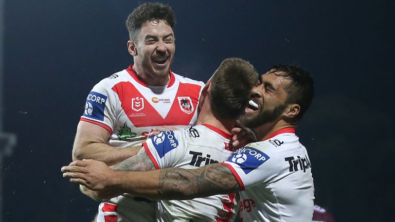 St George Illawarra were victorious against Manly