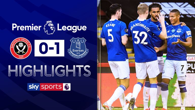 SHEFFIELD 0-1 EVERTON