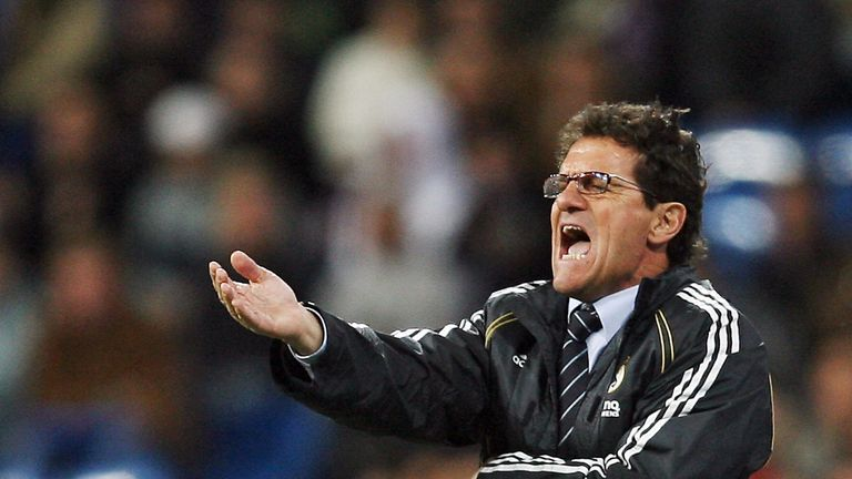 Fabio Capello coached Real Madrid over two spells