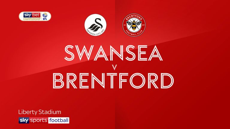Swansea take on Brentford in the first-leg semi-final Championship playoff clash.
