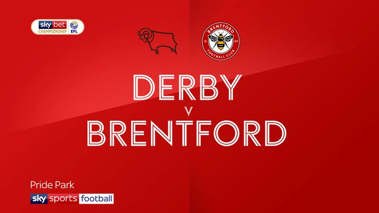 derby v brentford badge