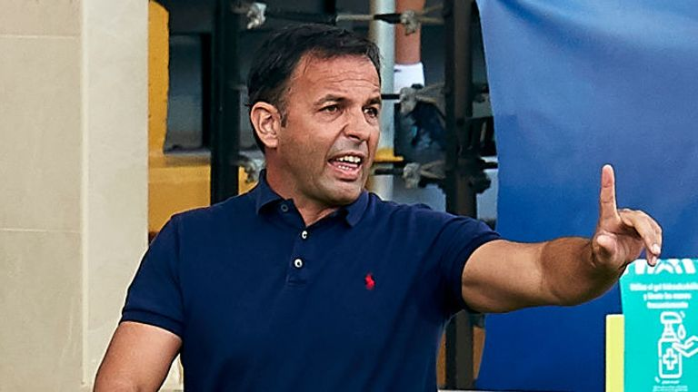 Javier Calleja led Villarreal to fifth in La Liga this season