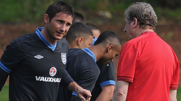 The pair worked together with England when Roy Hodgson was manager