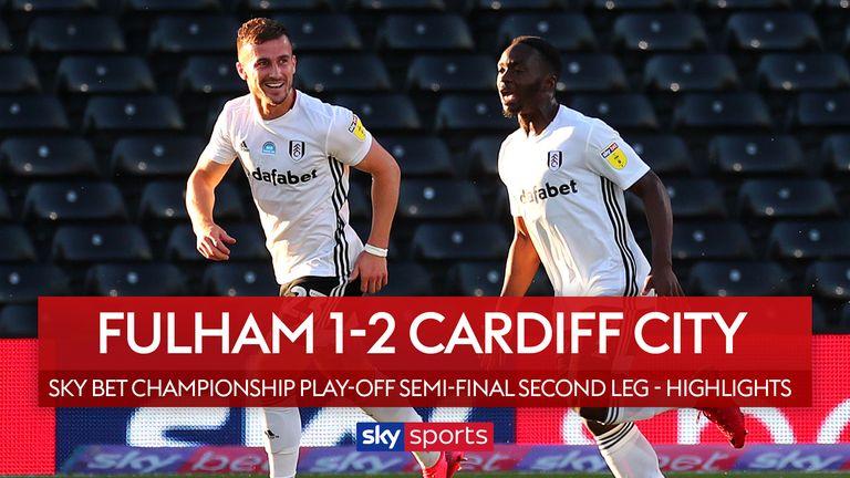Fulham 1-2 Cardiff play-off semi-final