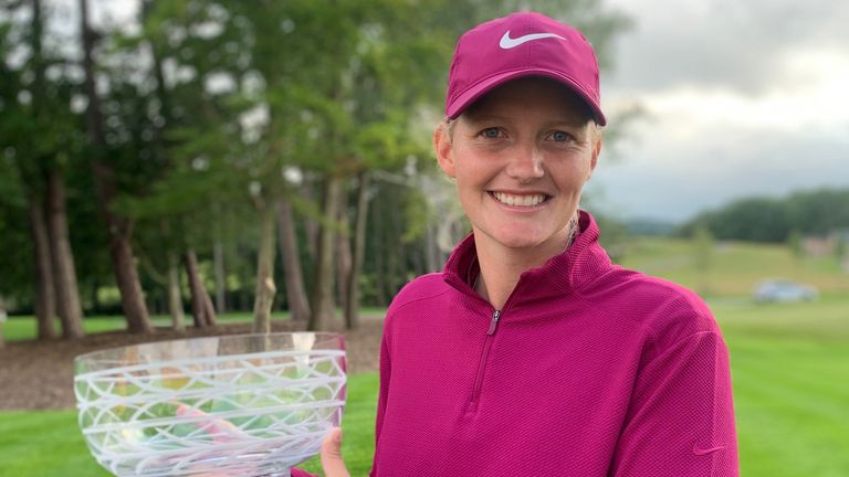 Gabriella Cowley claimed a one-shot win despite a nervy finish at the JCB Golf and Country Club in week five of the Rose Ladies Series.