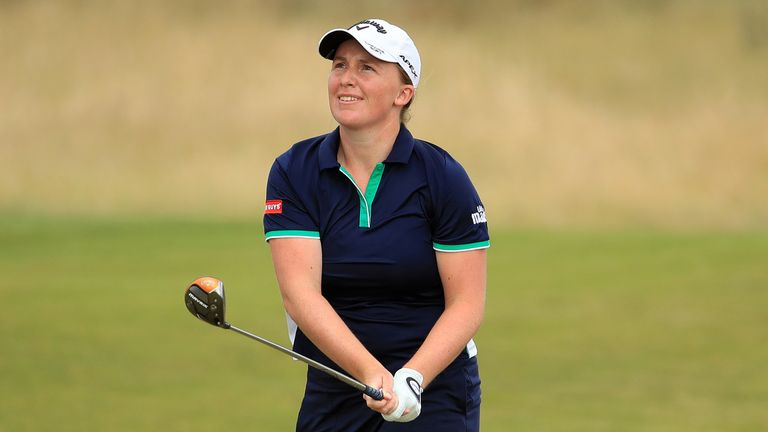 Dryburgh's prowess with her fairway woods was admirable