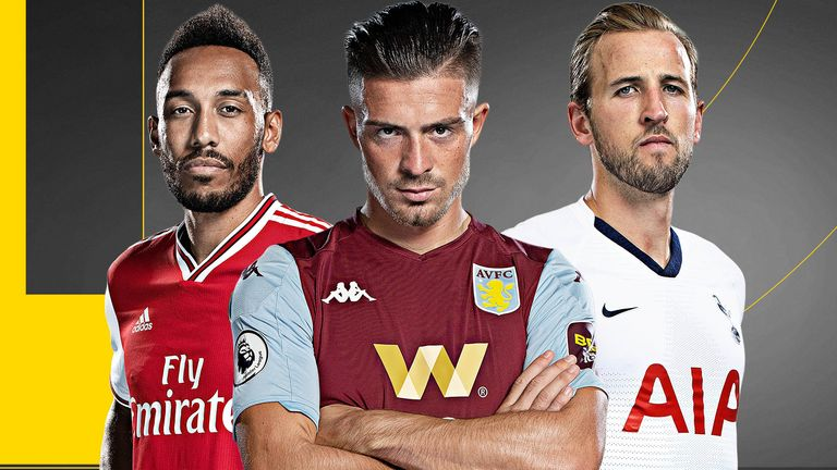 Pierre-Emerick Aubameyang, Jack Grealish and Harry Kane are in demand this summer