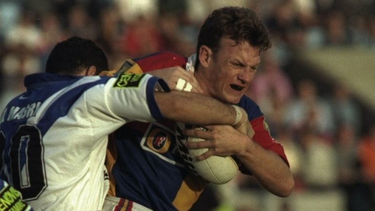 Greg Barwick was part of the Broncos' memorable win over Canberra