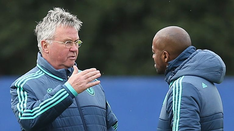 Newton also had a spell as Guus Hiddink's assistant at Chelsea