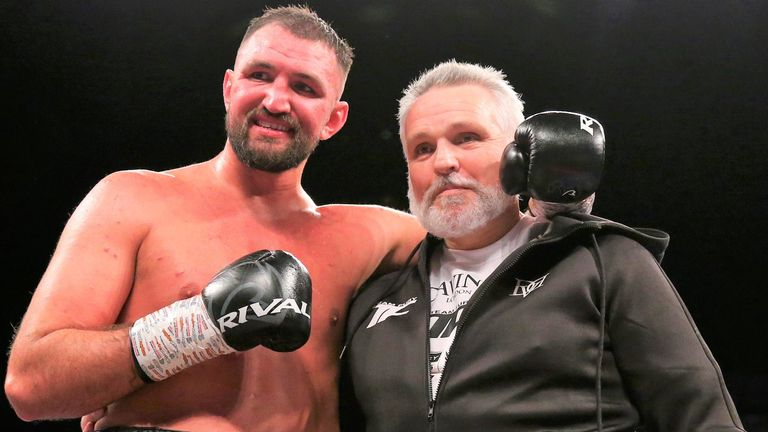 Hughie Fury would consider sparring with Joshua to help him prepare for Pulev