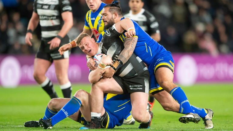 Radford's final game in charge of Hull FC ended in defeat to Warrington